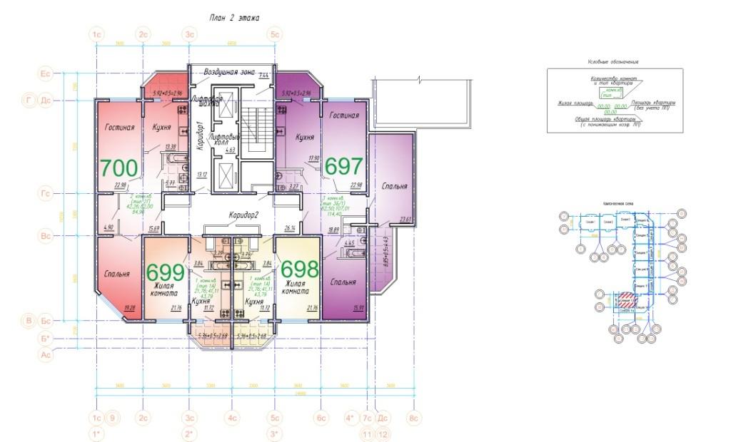 2 этаж 8 подъезд